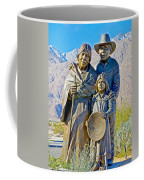 Cahuilla Band Of Agua Caliente Indians Sculpture On Tahquitz Canyon Way In Palm Springs-california Coffee Mug