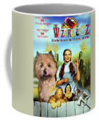 Cairn Terrier Art Canvas Print - The Wizard Of Oz Movie Poster Coffee Mug
