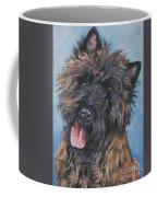 Cairn Terrier Brindle Coffee Mug by Lee Ann Shepard