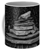 Cairns Rock Trail Marker Bluff Utah 01 Bw Coffee Mug
