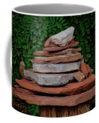 Cairns Rock Trail Marker Bluff Utah 01 Coffee Mug