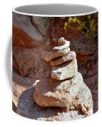 Cairns Rock Trail Marker Colorado Plateau Kanab Utah 01 Coffee Mug