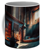 Cairo, Egypt -  Interior Of A Room In The Famous Bayt Al Suhaymi Located At Al Muizz Street In Cairo Coffee Mug