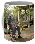 Cajun Man And Accordion Coffee Mug