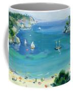 Cala Galdana - Minorca Coffee Mug by Anne Durham