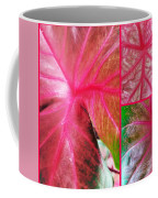 Caladium Red Trio Coffee Mug
