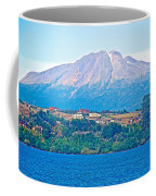 Calbuco Volcano Over Llanquihue Lake From Puerto Varas-chile Coffee Mug