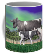 Calf Suckling - 3d Render Coffee Mug