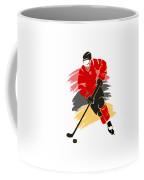 Calgary Flames Player Shirt Coffee Mug