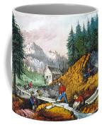 California: Gold Mining Coffee Mug