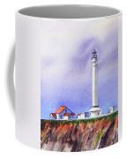 California Lighthouse Point Arena Coffee Mug