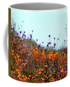 California Poppies And Wildflowers Coffee Mug