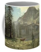 Call Of The Wild Coffee Mug by Albert Bierstadt
