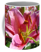 Calla Lily Art Prints Pink Lilies Flowers Baslee Troutman Coffee Mug