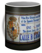 Calle De Chartres Coffee Mug