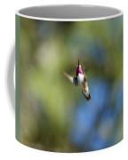 Calliope Hummingbird In Flight Coffee Mug
