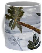 Calm Beach Palm Coffee Mug