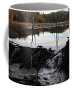 Calm Photo Of Water Flowing Coffee Mug