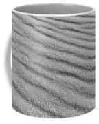 Calm Sands In Monochrome Coffee Mug