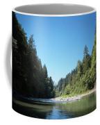 Calm Sandy River In Sandy, Oregon Coffee Mug