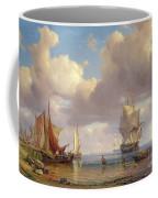 Calm Sea Coffee Mug by Adolf Vollmer