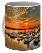 Calm Waters Bull River Marina Tybee Island Savannah Georgia Art Coffee Mug