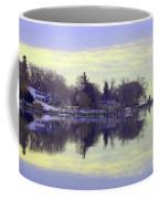 Calming Lavendar Scene Coffee Mug