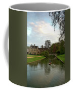 Cambridge Clare College Stream Boat And Boys Coffee Mug
