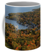 Camden Harbor In The Fall Coffee Mug