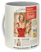 Camel Cigarette Ad, 1951 Coffee Mug by Granger