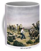 Camel Express, 1857 Coffee Mug