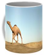 Camel Running - 3d Render Coffee Mug
