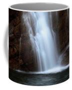 Cameron Falls In Waterton Lakes National Park Of Alberta Coffee Mug
