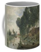 Camille Corot   Landscape At Arleux Du Nord Coffee Mug