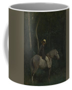 Camille Corot   Monsieur Pivot On Horseback Coffee Mug