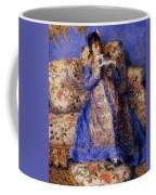 Camille Monet Reading 1872 Coffee Mug