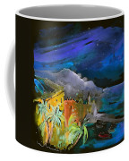 Camogli By Night In Italy Coffee Mug