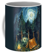 Camp At Night Coffee Mug