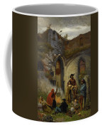 Camp Gypsies In The Ruins Of The Abbey Coffee Mug