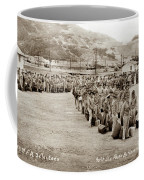 Camp San Luis Obispo Army Base 40th Division Photo 143rd Field Artillery 1941 Coffee Mug
