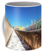 Campeche Wall And City View Coffee Mug
