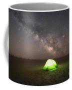 Camping Under The Milky Way Galaxy Coffee Mug