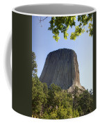 Can You Find The Climbers On Devils Tower Wyoming -1 Coffee Mug