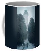 Cana Island Lighthouse Wisconsin Painterly Coffee Mug