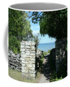 Cana Island Walkway Wi Coffee Mug