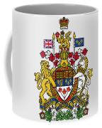 Canada Coat Of Arms Coffee Mug