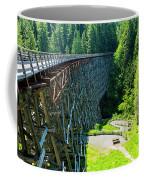 Canada National Historic Wooden Trestle- Kinsol Trestle Near Shawnigan Lake, Bc Canada. Coffee Mug