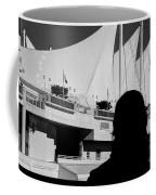 Canada Place Wings Silhouette Coffee Mug