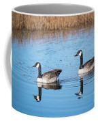 Canadian Geese Couple Coffee Mug