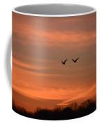 Canadian Geese Morning Flight Coffee Mug